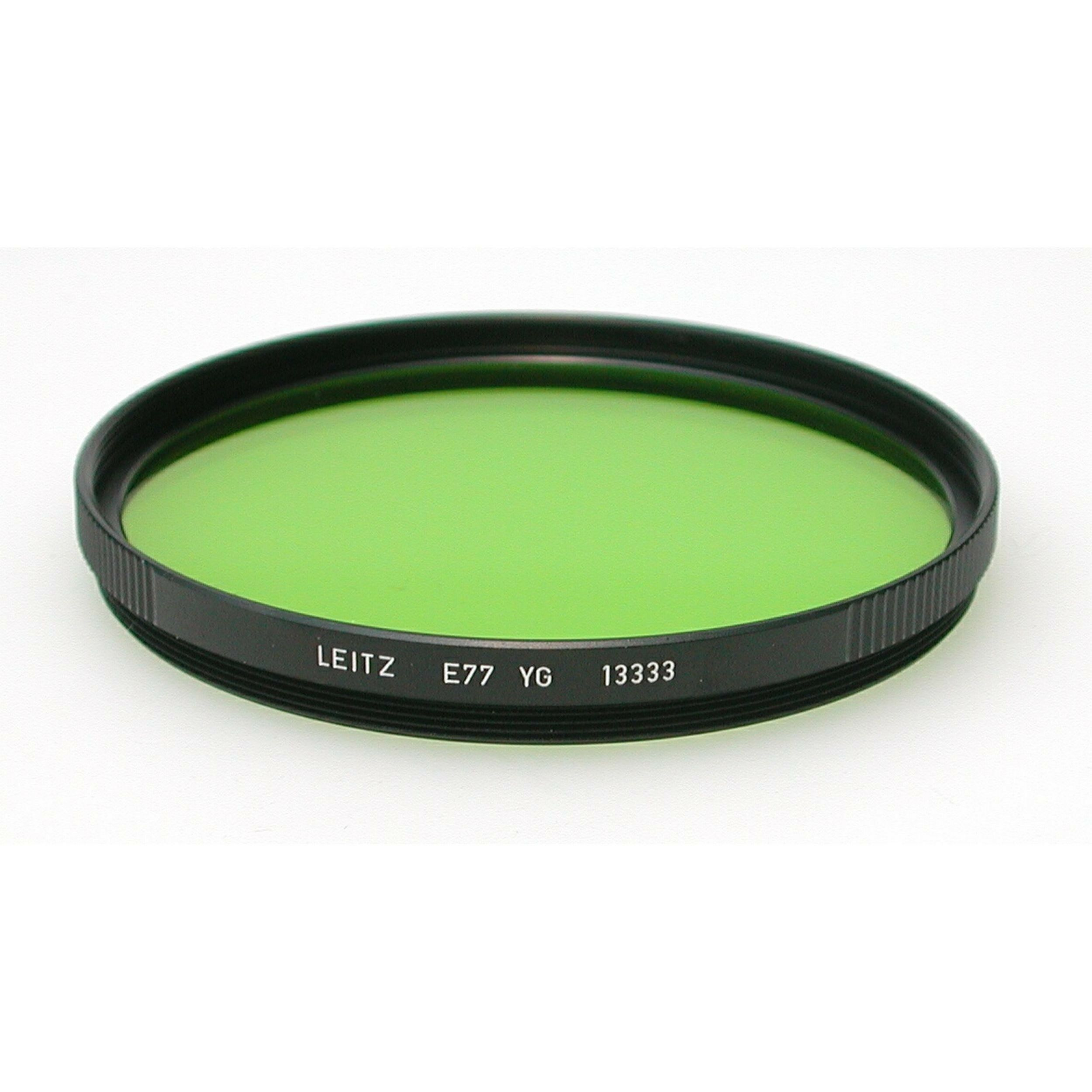 Leica e77 yellow green filter black box filters products