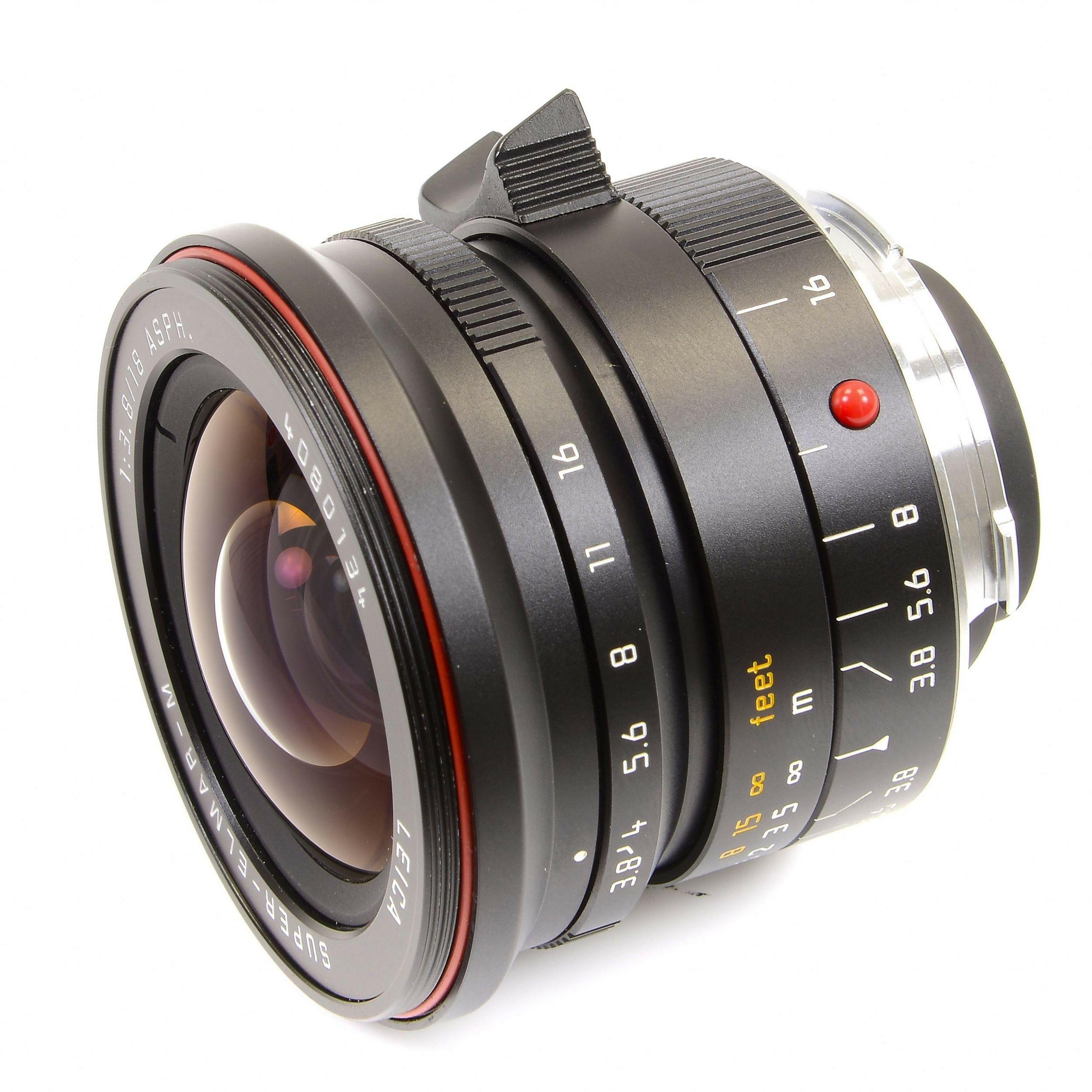 Leica 18mm F38 Super Elmar M Asph