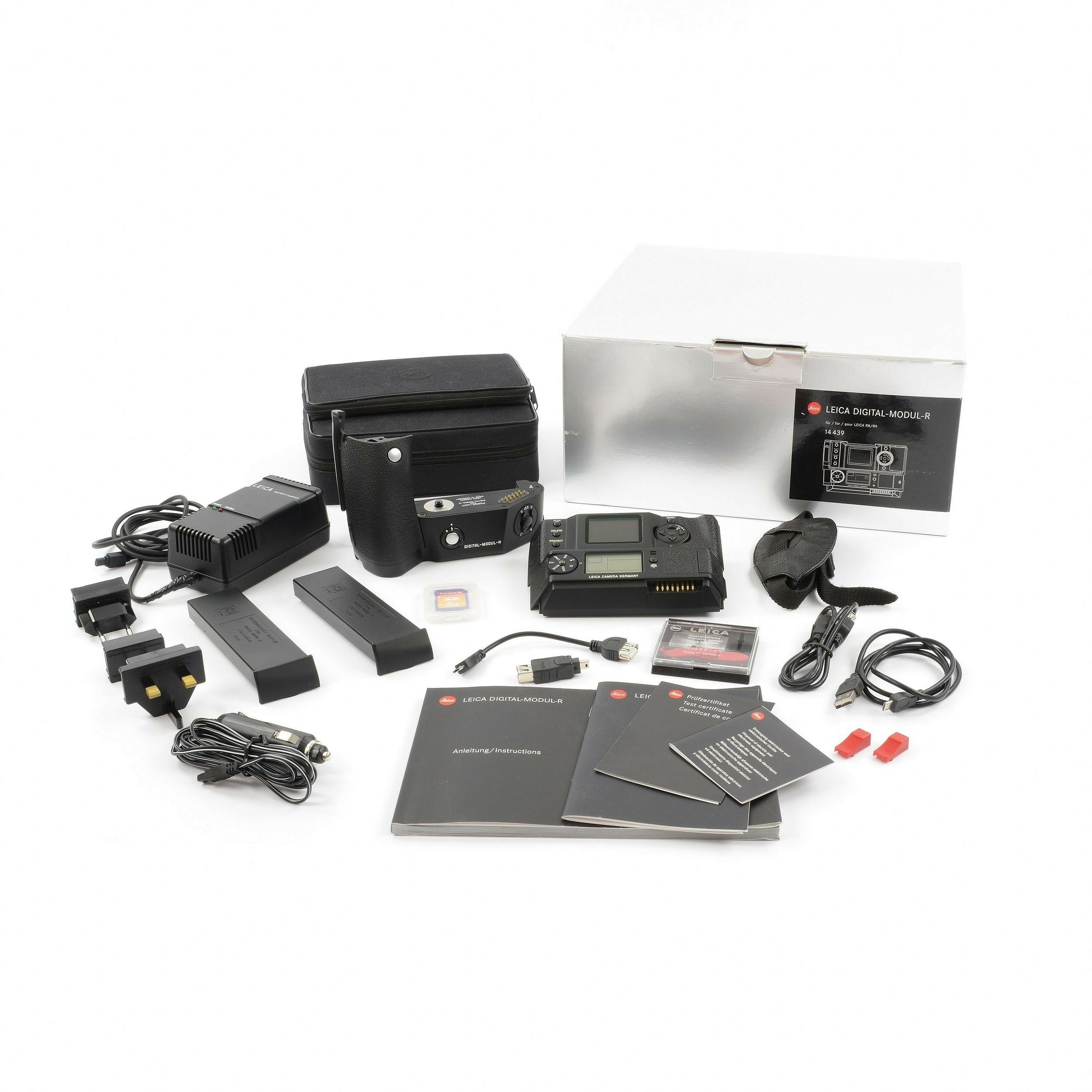 Leica Digital-Modul-R DMR Set + Box