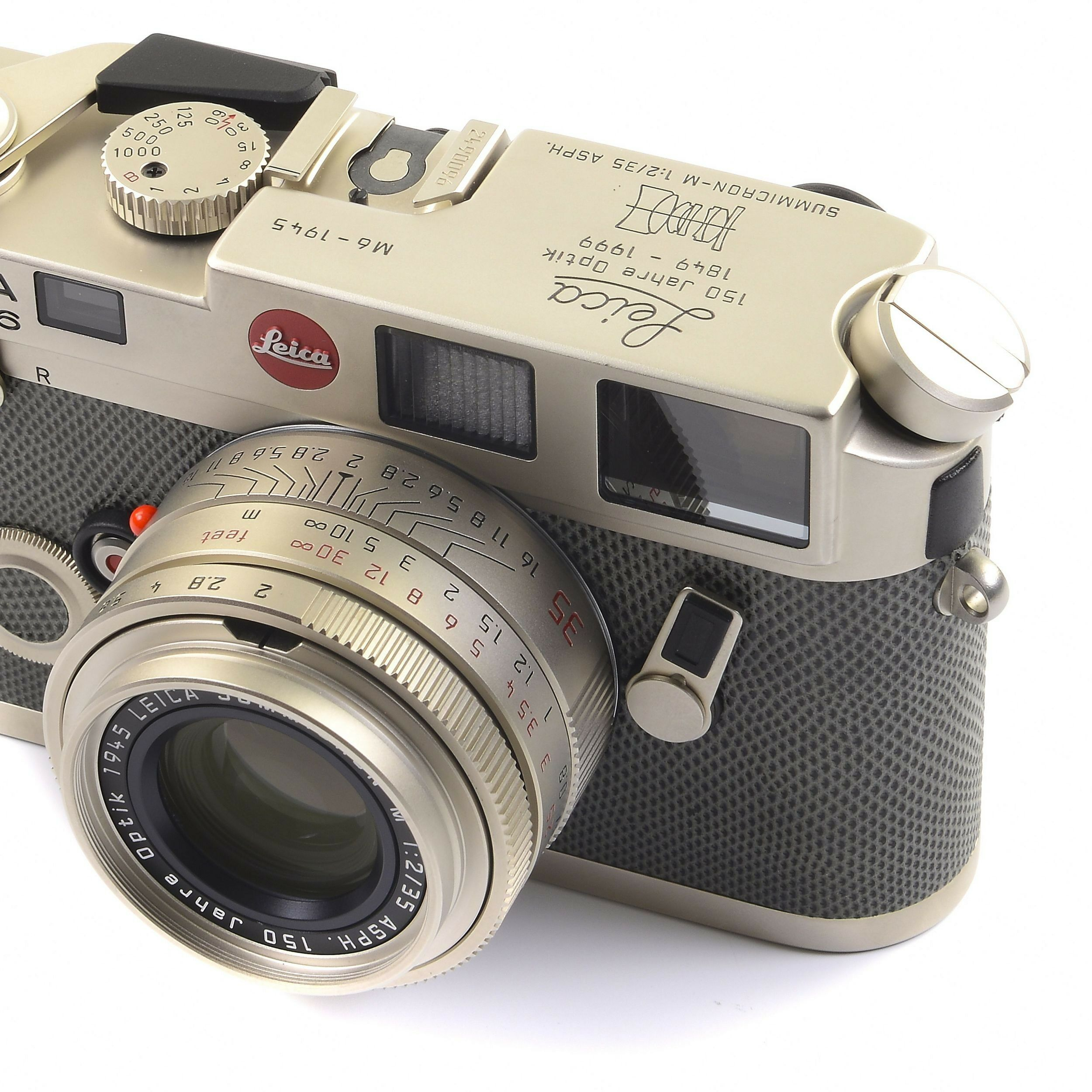 Leica M6 Platinum 150 Years Optik 35mm Summicron 1945 + Box