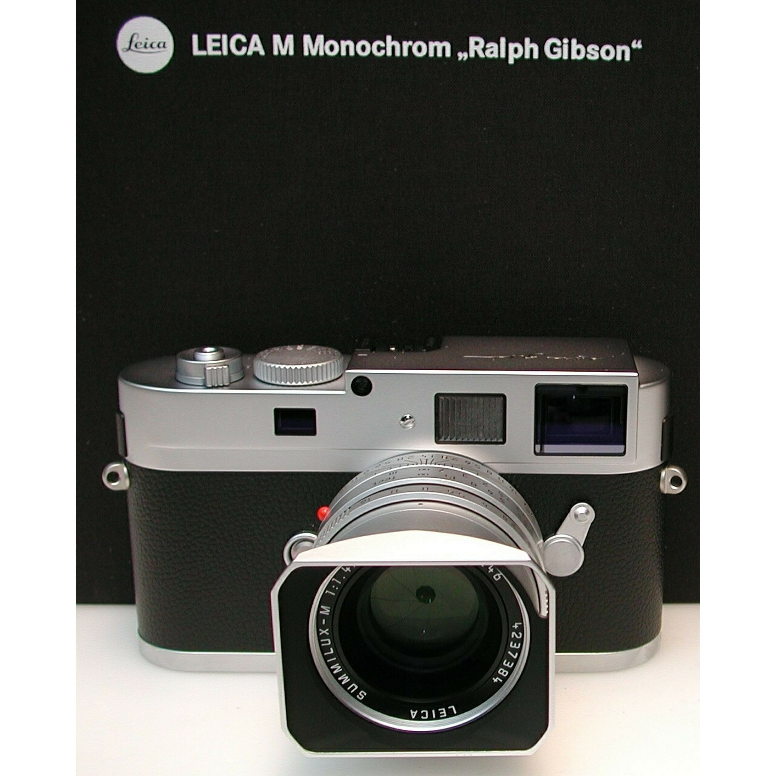 leica m monochrom ralph gibson box leica m monochrom leica m mount cameras leica m. Black Bedroom Furniture Sets. Home Design Ideas
