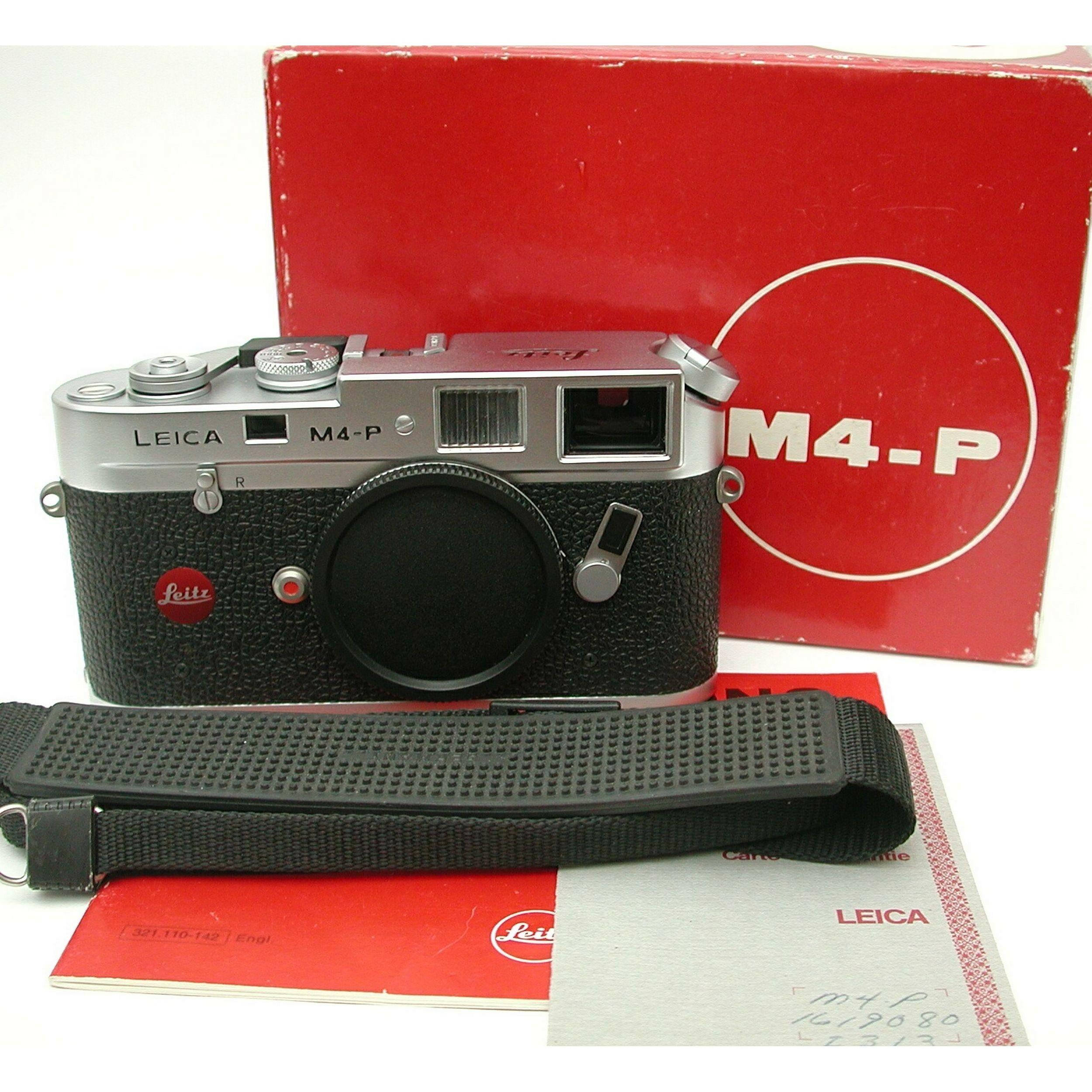 Leica M4-P Chrome 70 Years