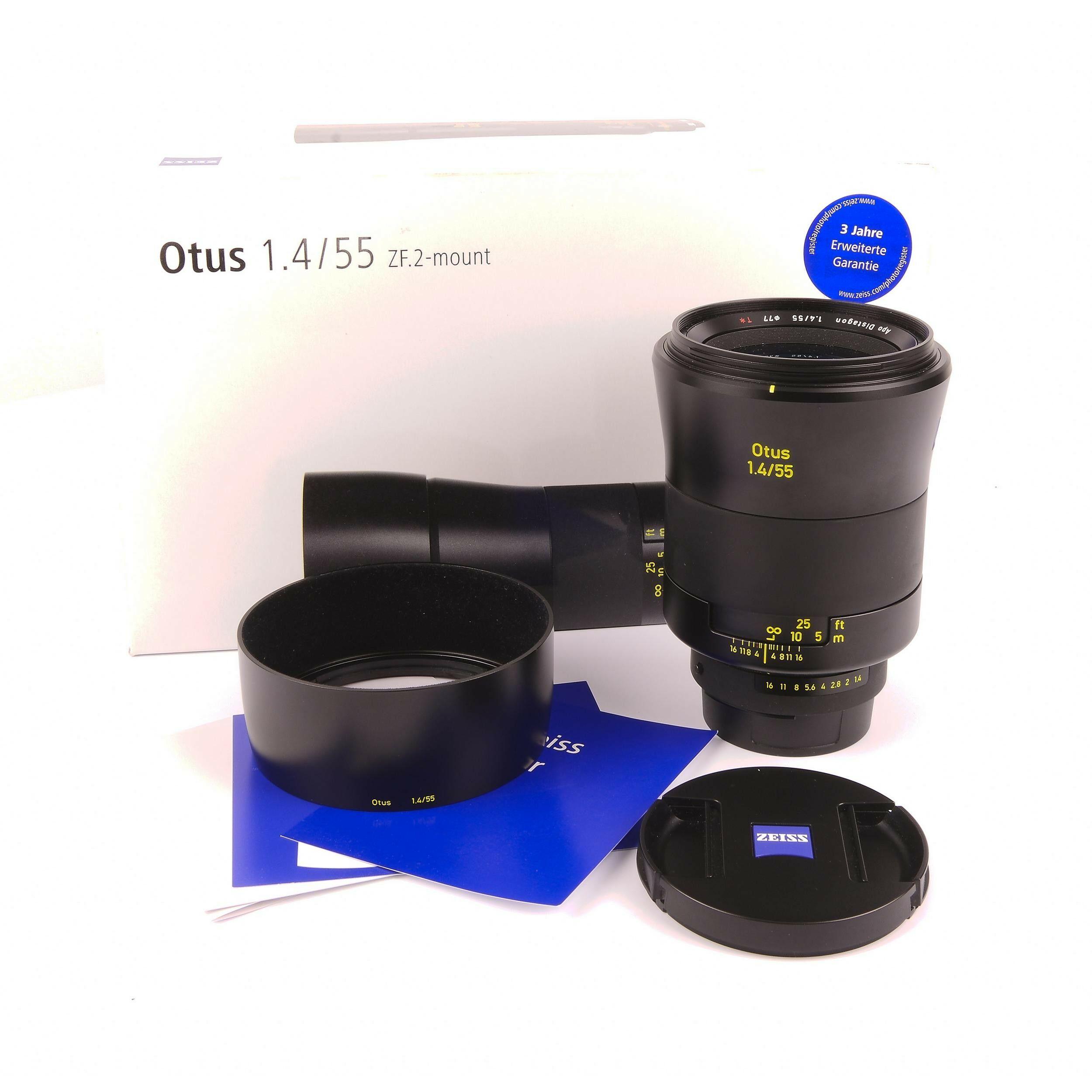Zeiss 55mm f1 4 Otus XF 2 Nikon Mount + Box