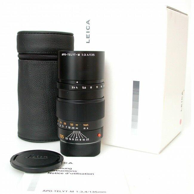 Leica 135mm f3.4 APO-Telyt-M + Box