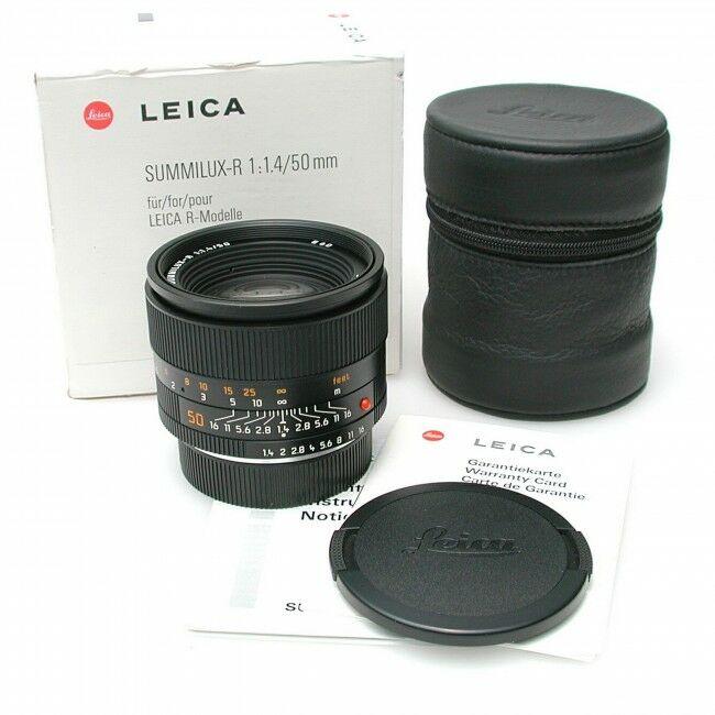 Leica 50mm f1.4 Summilux-R E60 ROM + Box