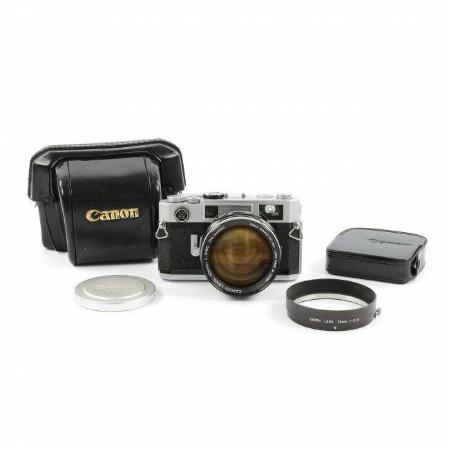 Canon 7S + 50mm f0.95 Dream Lens + Hood