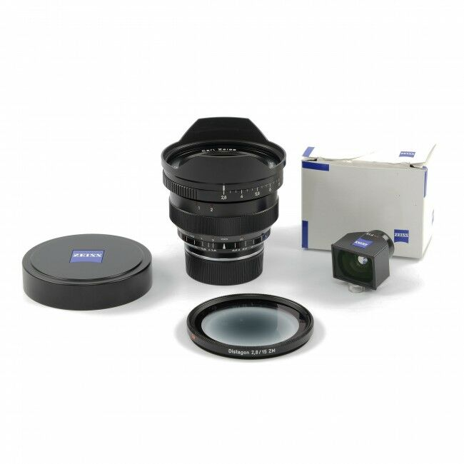 Carl Zeiss 15mm f2.8 Distagon ZM For Leica + Finder