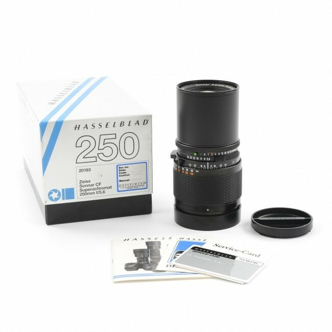 Carl Zeiss 250mm f5.6 Sonnar Superachromat CF For Hasselblad V System + Box