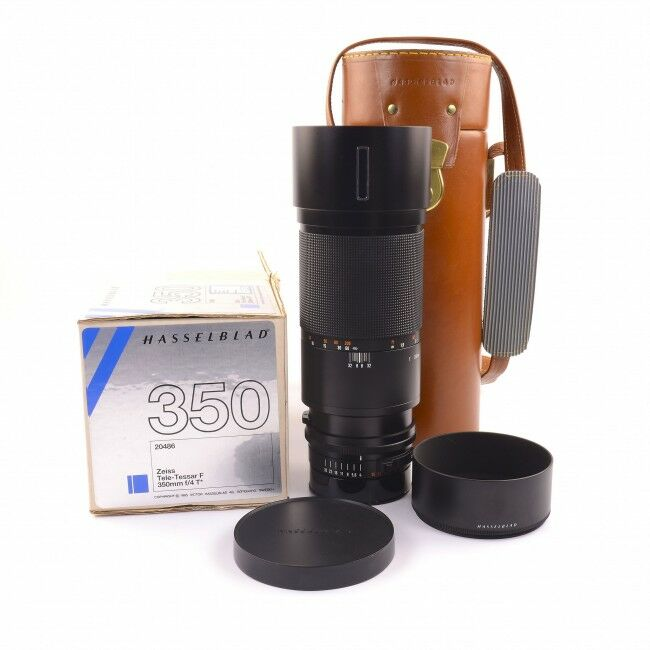 Carl Zeiss 350mm f4 Tele-Tessar F For Hasselblad V System + Box