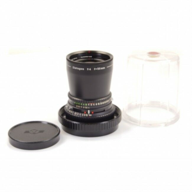Carl Zeiss 50mm f4 Distagon T* C Black For Hasselblad V System