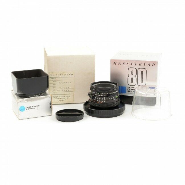 Carl Zeiss 80mm f2.8 Planar CF For Hasselblad V System + Box