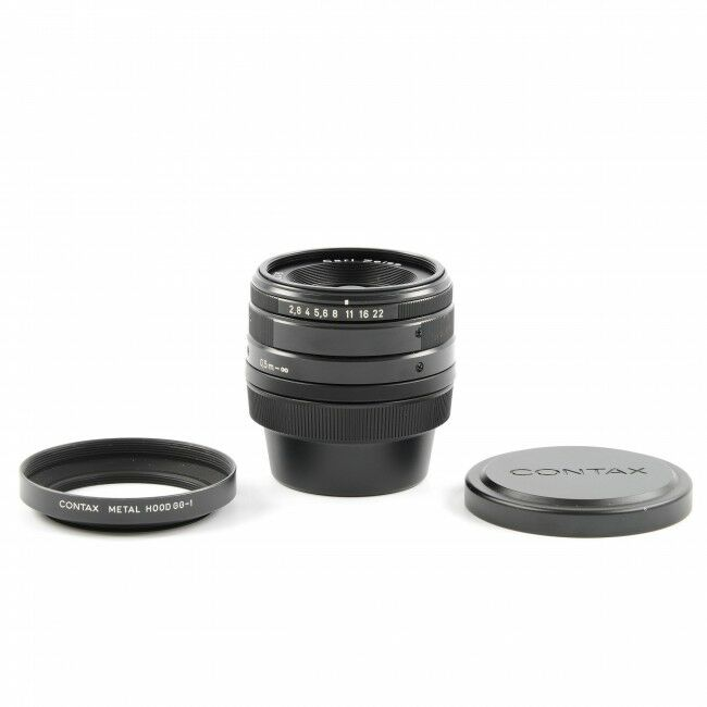 Carl Zeiss 28mm f2.8 Biogon T* Black For Contax G1 / G2