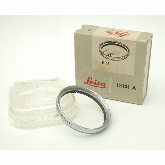 Leica E39 UVA Filter Chrome + Box