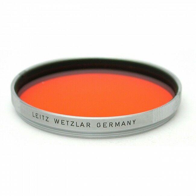 Leica E58 Orange Filter Chrome