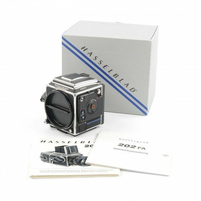 Hasselblad 202FA Chrome + Box