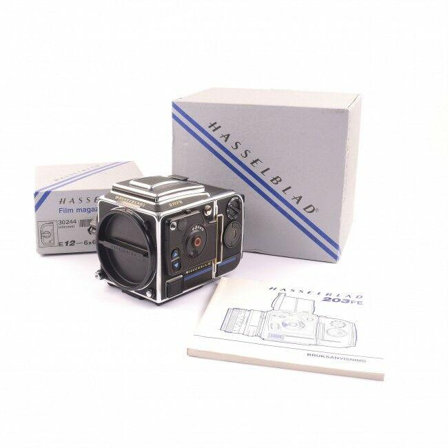 Hasselblad 203FE Chrome Millennium Edition + Box