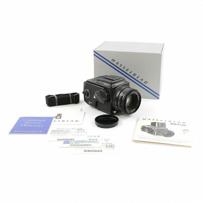 Hasselblad 501CM Black Set + 80mm CFE + A12 +Box