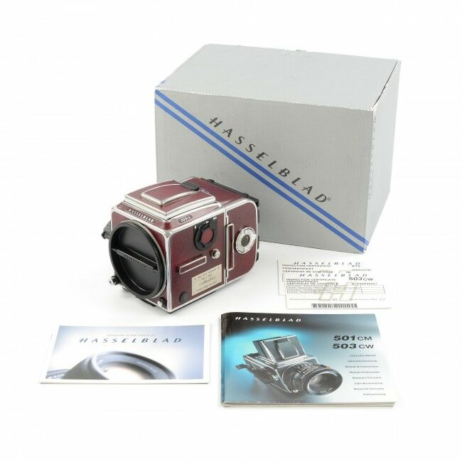 Hasselblad 503CW 60 Years Victor Hasselblad Red Edition + Box