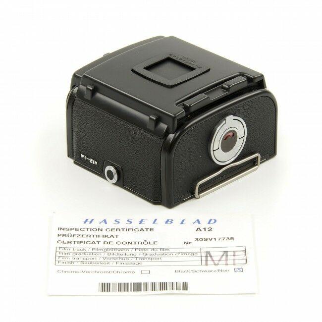 Hasselblad A12 Film Back Black
