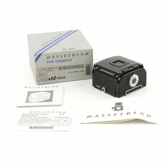 Hasselblad A12 Film Back Black + Box