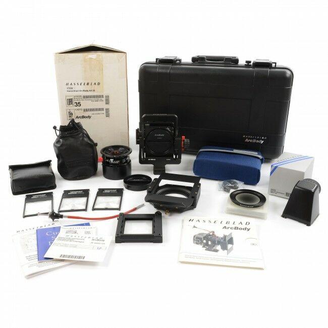 Hasselblad Arcbody Set + 35mm Lens + Box