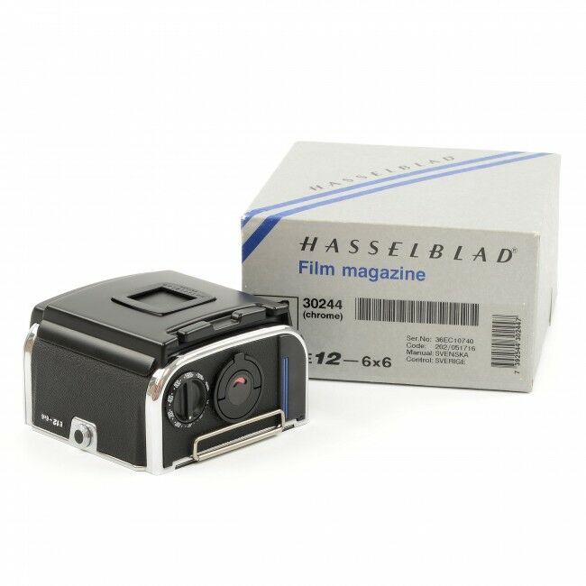 Hasselblad E12 Film Back Chrome + Box