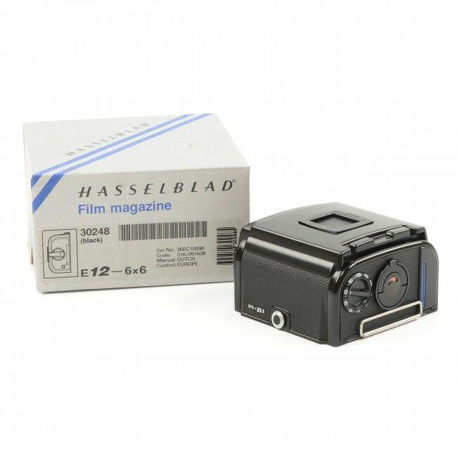 Hasselblad E12 Film Back Black + Box