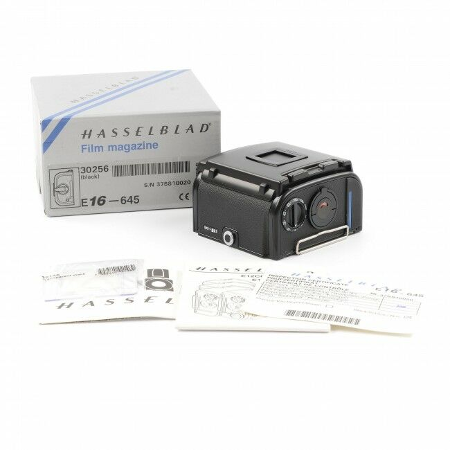 Hasselblad E16 Film Back Black + Box
