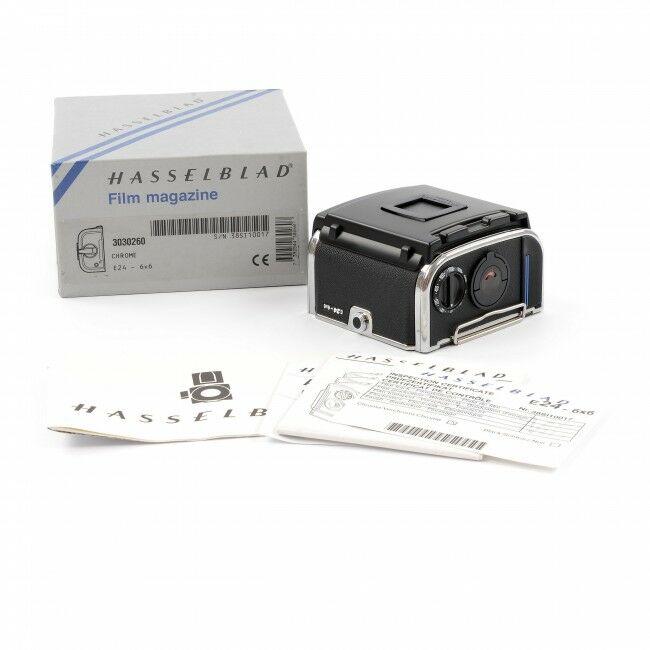 Hasselblad E24 Film Back Chrome + Box