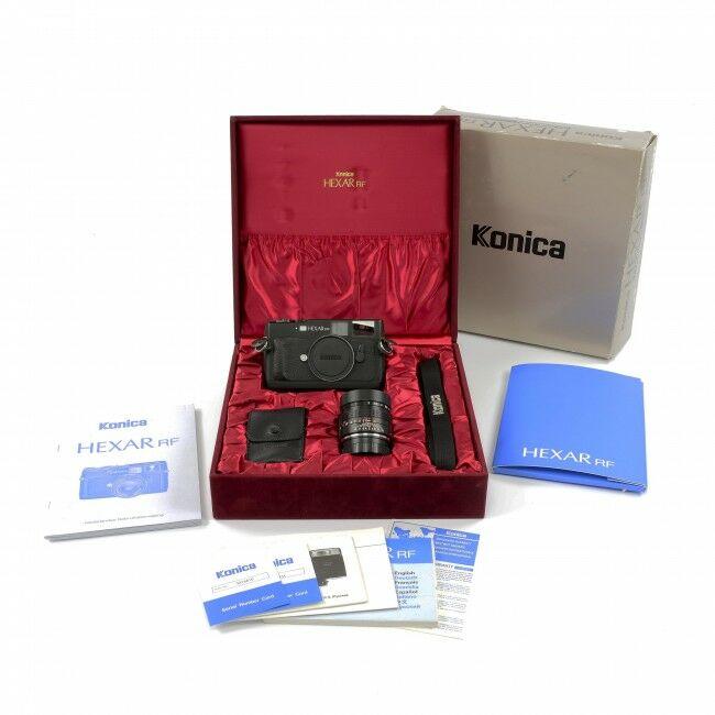 Konica Hexar RF Black Set + Box