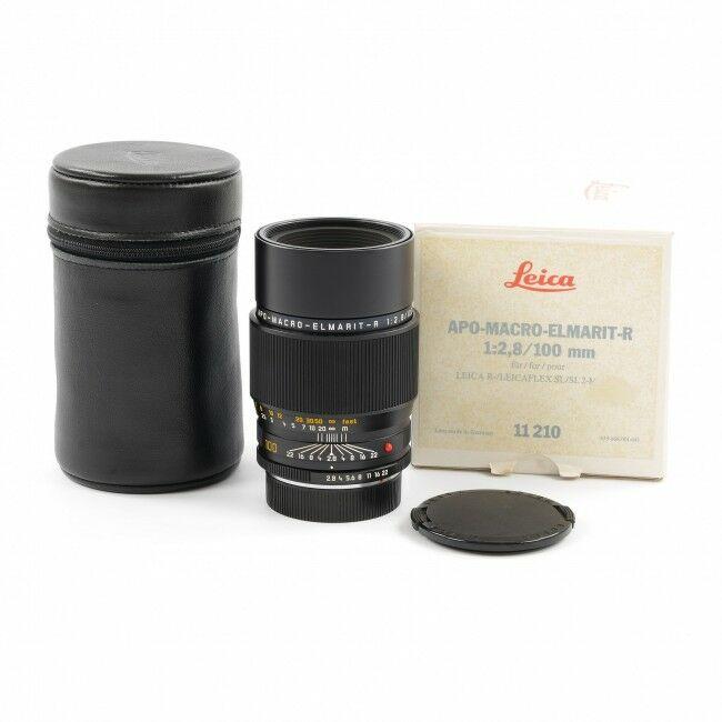 Leica 100mm f2.8 APO-Macro-Elmarit-R 3-Cam + Box