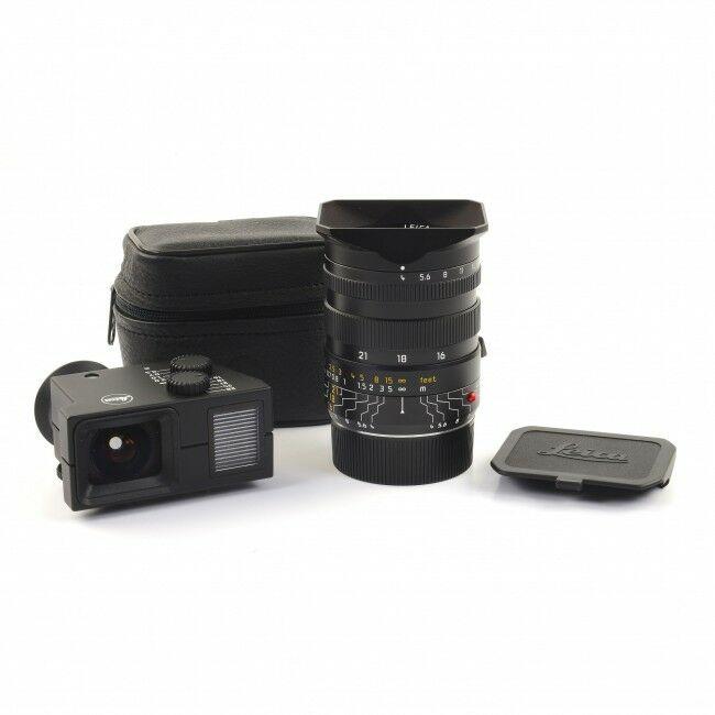 Leica 16-18-21mm f4 Tri-Elmar + Finder