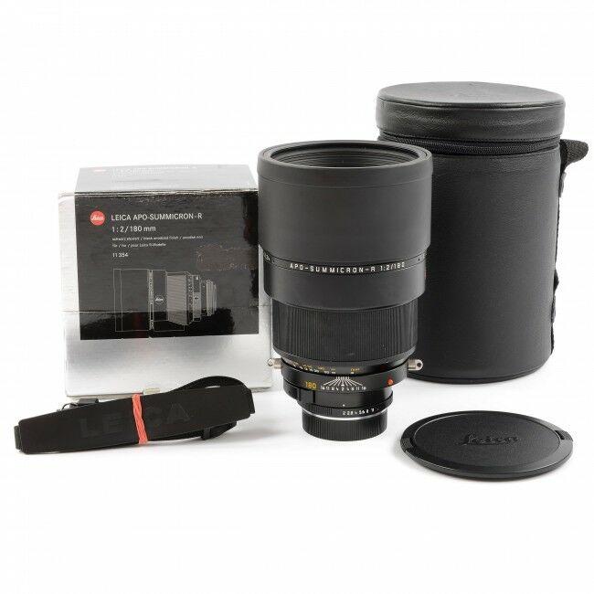 Leica 180mm f2 APO-Summicron-R ROM + Box