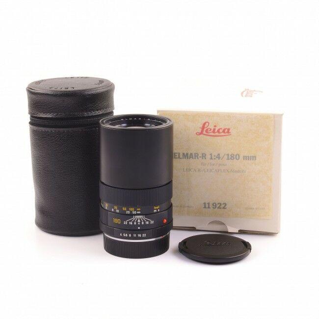 Leica 180mm f4 Elmar-R 3-Cam + Box