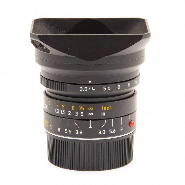 Leica 18mm f3.8 Super-Elmar-M ASPH
