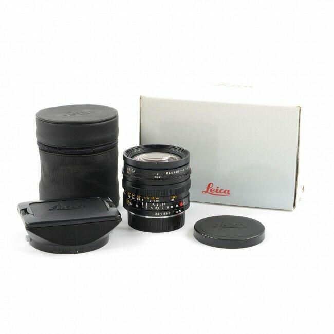Leica 19mm f2.8 Elmarit-R MK II + Box