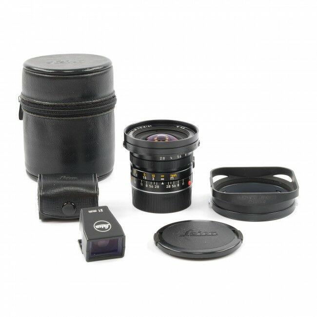 Leica 21mm f2.8 Elmarit-M + 21mm Finder