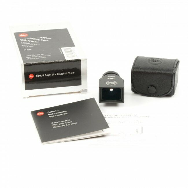 Leica 21mm Finder Black + Box