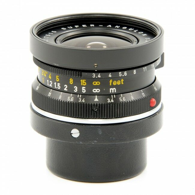 Leica 21mm f3.4 Super-Angulon Black