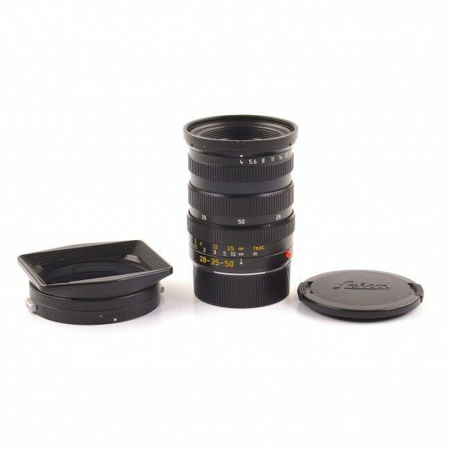 Leica 28-35-50mm f4 Tri-Elmar