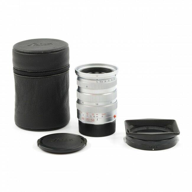Leica 28-35-50mm f4 Tri-Elmar SIlver