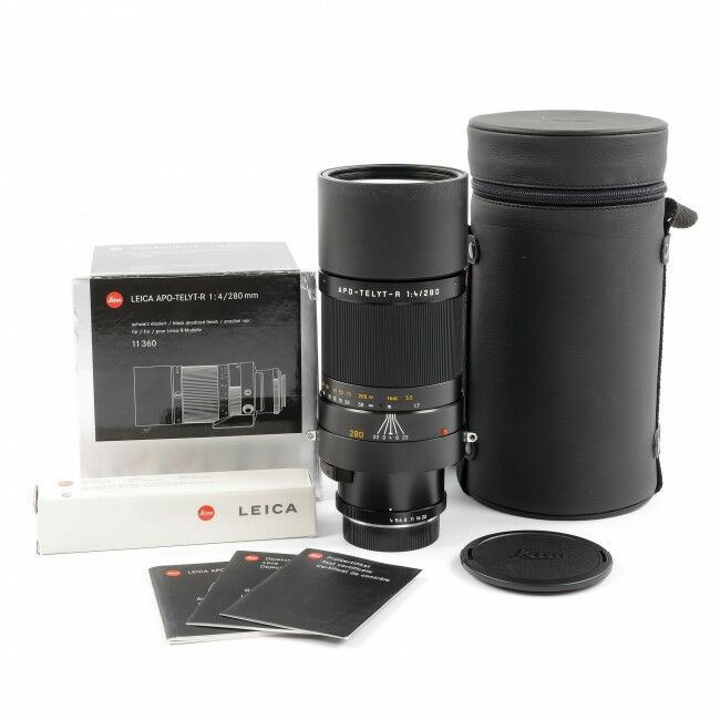 Leica 280mm f4 APO-Telyt-R ROM + Box