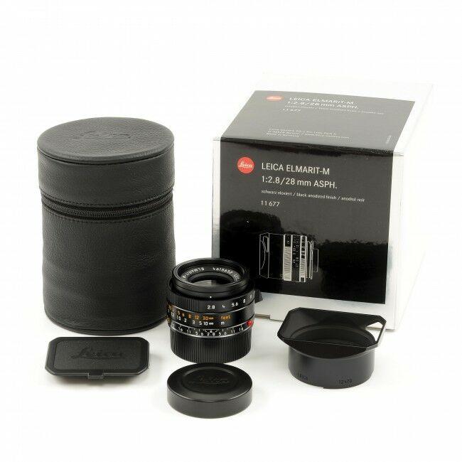 Leica 28mm f2.8 Elmarit-M ASPH + Box