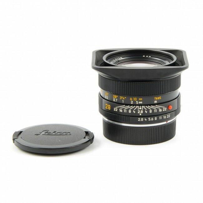 Leica 28mm f2.8 Elmarit-R ROM