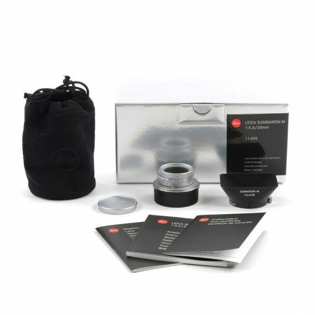 Leica 28mm f5.6 Summaron-M + Box
