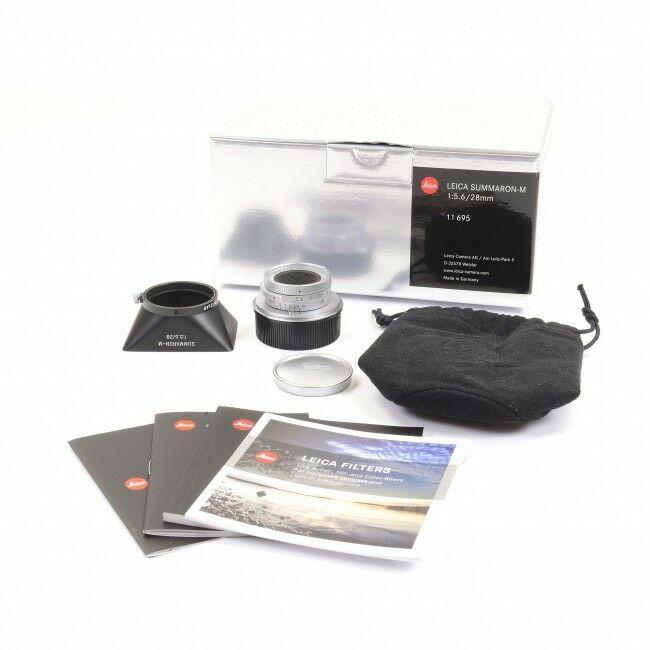 Leica 28mm f5.6 Summaron-M 6-Bit + Box