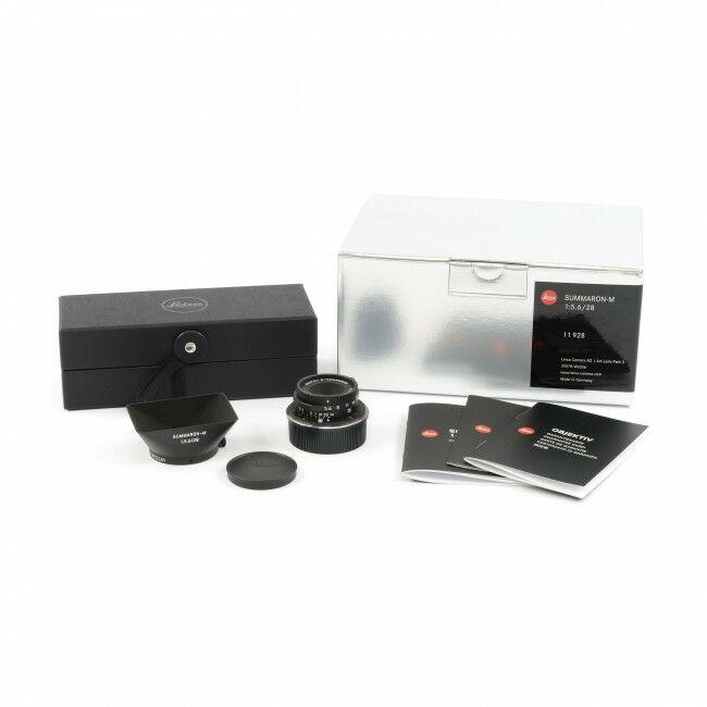 Leica 28mm f5.6 Summaron-M Matte Black + Box
