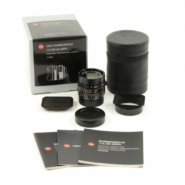 Leica 28mm f2 Summicron-M ASPH + Box