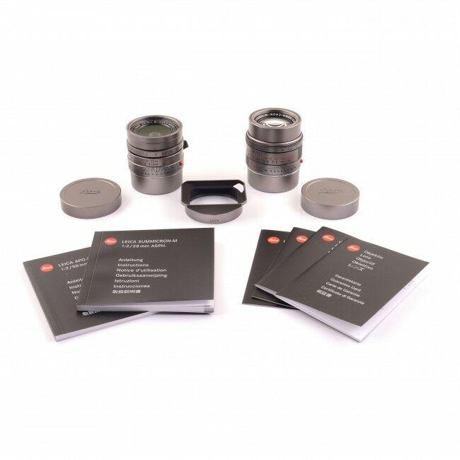 Leica 28mm f2 Summicron-M ASPH + 50mm f2 APO-Summicron-M ASPH Titanium