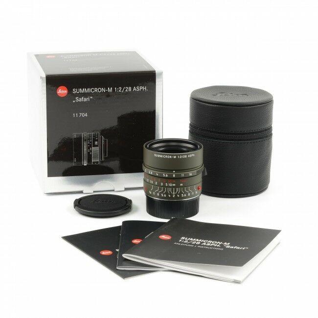 Leica 28mm f2 Summicron-M ASPH Safari + Box